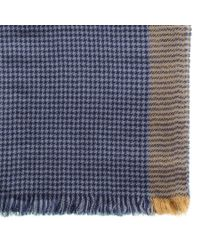Black.co.uk - Blue Cavendish Cashmere Scarf Description Delivery & Returns Reviews for Men - Lyst