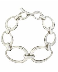 Dinny Hall - Metallic Silver Toro Link Bracelet - Lyst