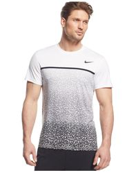 Nike | Black Challenger Printed T-shirt for Men | Lyst