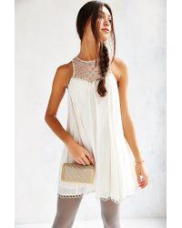 Urban Outfitters - Metallic Mesh Hard Case Crossbody Bag - Lyst