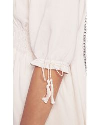 Tigerlily - White Genevieve Smock Dress - Lyst