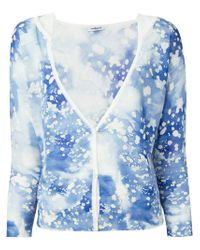 Cacharel | Blue Printed Cardigan | Lyst
