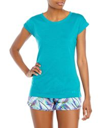 Under Armour | Blue Turquoise Icon T-Shirt | Lyst