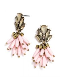 BaubleBar | Pink Freesia Drops | Lyst