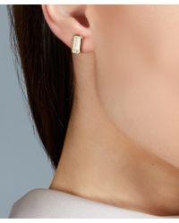 Astley Clarke - Metallic Gold-plated Moonstone Prismic Stud Earrings - Lyst