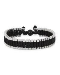 Vitaly | Metallic Arma Silver Tone Link Bracelet for Men | Lyst