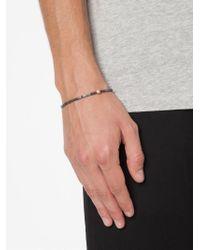 Luis Morais - Metallic Snake Ball Beaded Bracelet for Men - Lyst