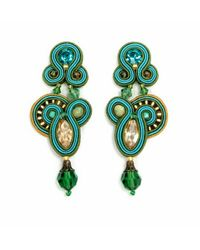 Dori Csengeri | Green Capri Earrings | Lyst