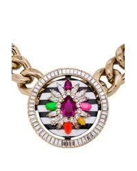 Shourouk | Multicolor Maximus Necklace | Lyst