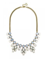 BaubleBar - Metallic Crystal Elsa Bib-green/antique Gold - Lyst