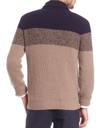 Brunello Cucinelli - Brown Chunky Cashmere Sweater for Men - Lyst