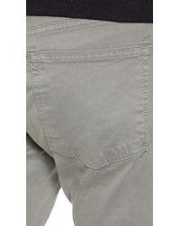 J Brand - Gray Kane Garment Dyed Jeans for Men - Lyst