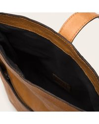 Frye | Brown Artisan Fold Over | Lyst