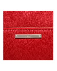Nine West - Red Zip N Go Satchel Bag - Lyst