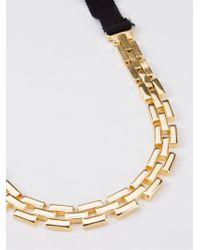 Osklen - Metallic Gold-tone Chain Necklace - Lyst