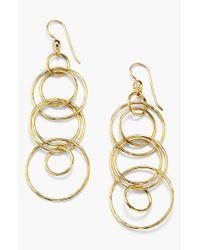 Ippolita - Metallic 18k Gold Link Drop Earrings - Lyst