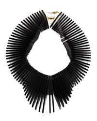 Sarah Angold Studio - Black 'Super Relay' Necklace - Lyst