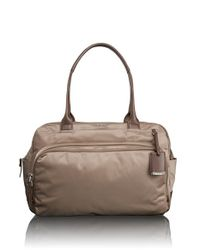 Tumi | Brown 'athens' Laptop Shoulder Tote | Lyst