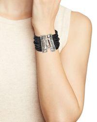 Uno De 50 | Metallic Close Me Bracelet | Lyst