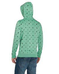 Blend | Green Pattern Crew Neck Pull Over Jumper for Men | Lyst