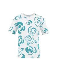 J.W.Anderson | Multicolor Floral Print T-shirt | Lyst