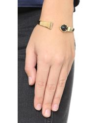 Alexis Bittar | Metallic Geometric Bar Hinge Bracelet | Lyst