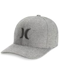 Hurley - Gray Black Suits Hat for Men - Lyst