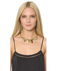 Lizzie Fortunato | Metallic Lagoon Necklace | Lyst