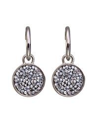 Dyrberg/Kern | Metallic Krystalit Earrings | Lyst