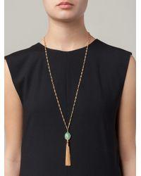 Gas Bijoux | Metallic 'Pompon' Necklace | Lyst