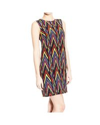 M Missoni | Red Leopard Print Dress | Lyst