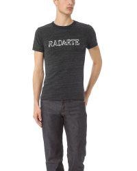 Rodarte | Gray Barbed Wire Radarte Tshirt for Men | Lyst