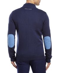 Moods Of Norway - Blue Kristian Zip Sweater for Men - Lyst