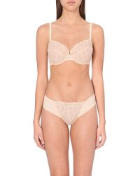 Wacoal | Natural Simply Sultry Underwire Bra | Lyst