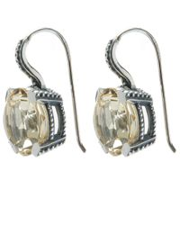 Stephen Dweck - Metallic Silver Citrine Earrings - Lyst
