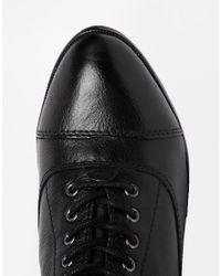 ALDO - Black Jons Leather Ankle Boots - Lyst