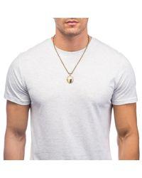Lulu Frost | Metallic Shield Necklace for Men | Lyst