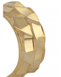 MFP MariaFrancescaPepe - Metallic Coco 23kt Gold Plated Ear Cuffs - Lyst