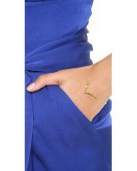 Gorjana   Metallic Vista Bracelet Gold   Lyst