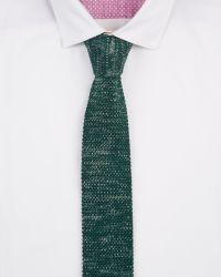 Ted Baker | Green Fleknit Knitted Tie for Men | Lyst