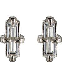 Cathy Waterman - Metallic Una De Gato Stud Earrings - Lyst