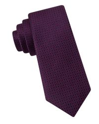 MICHAEL Michael Kors | Red Havana Neat Tie for Men | Lyst