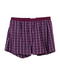 Calvin Klein - Purple Boxer for Men - Lyst