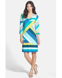 Tommy Bahama | Green Sunspot Tide Shift Dress | Lyst
