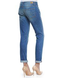 PAIGE - Blue Jimmy Jimmy Skinny Denim Jeans - Lyst