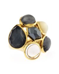 Ippolita | Black 18k Rock Candy Party Ring Piazza Di Spagna | Lyst
