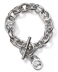 Michael Kors | Pink Toggle Bracelet | Lyst
