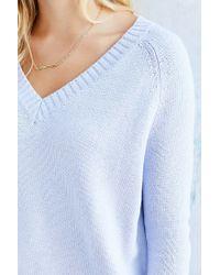 BDG - Purple Jordan V-neck Sweater - Lyst