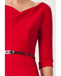 Black Halo - Red 3/4 Sleeve Jackie O - Lyst