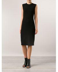 Vince - Black Pencil Dress - Lyst